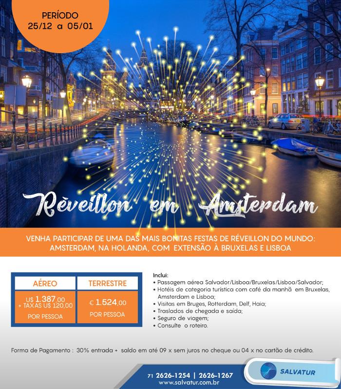 Pacote de Viagem Reveillon Amsterdam